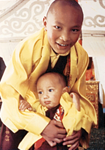 17th karmapa 11th pawo rinpoche 1